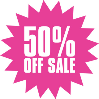 Image result for 50% off today only